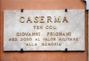 FRIGNANI Giovanni P.ZA S.LORENZO IN LUCINA CASERMA 1 400