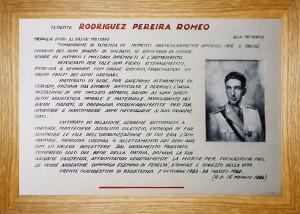 RODRIGUEZ PEREIRA ROMEO biografia