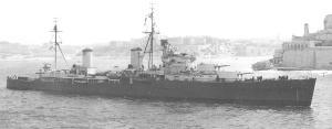 HMS PENELOPE - Arethusa-class Light Cruiser