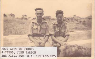 J. CLEGG, John BARTON