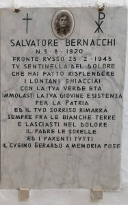 BERNACCHI Salvatore 1943 Anni 23