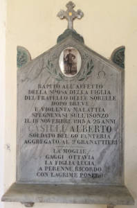 CASILLI Alberto 1915 Anni 25