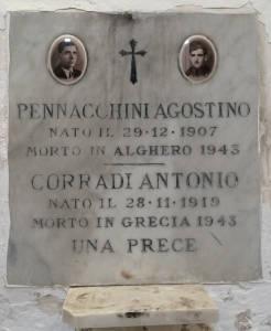 CORRADI Antonio 1943 Anni Anni 24