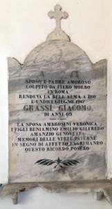 GRASSI Giacomo 1917 Anni 69