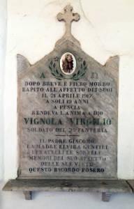 VIGNOLA Virgilio 1917 Anni 19