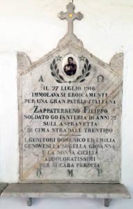 ZAPPATERRENO Filippo 1916 Anni 22
