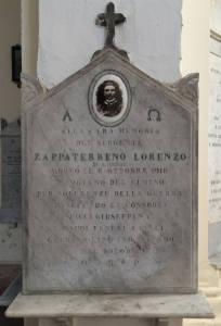 ZAPPATERRENO Lorenzo 1918 Anni 32