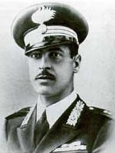 Il cap. Orlando De Tommaso, caduto durante i combattimenti della Magliana (MOVM alla memoria)