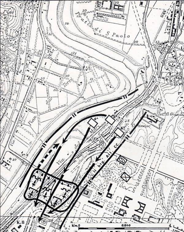 Roma, 9 settembre 1943. Azione del II° Batt. Allievi Carabinieri nel quadro dei combattimenti della Magliana.