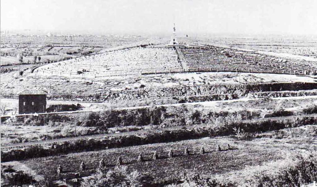 Veduta generale del Cimitero degli Invitti di Redipuglia: SFEI, 1923