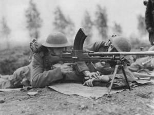 Il Bren fu una mitragliatrice leggera adottata dall'esercito britannico