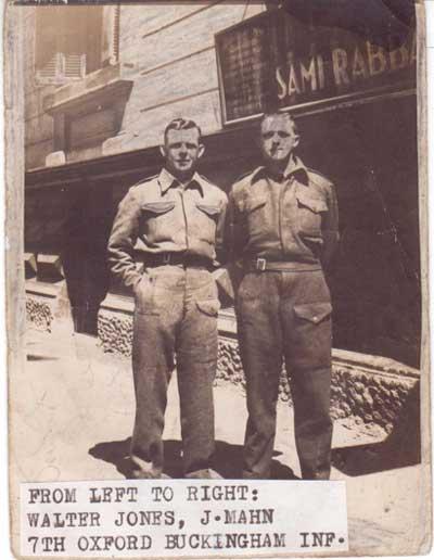 Walter JONES, J. MAHN