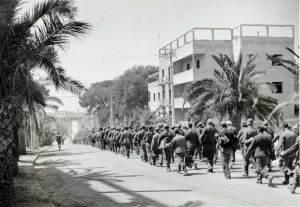 Anzio. Prigionieri tedeschi