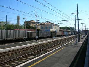 La stazione di Campoleone, oggi.