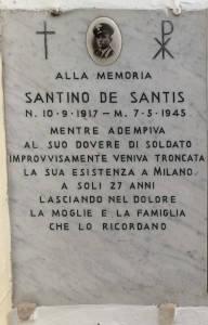 DE SANTIS Santino 1945 Anni 27