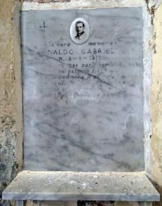 GABRIELLI Arnaldo 1943 Anni 22