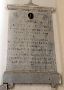 GENERALI Pietro 1917