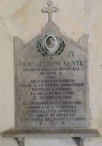 PENNACCHINI Sante 1916 Anni 21