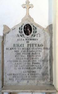 RICCI Pietro 1917 Anni 22