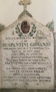 RUSPANTINI Giovanni 1916 Anni 35