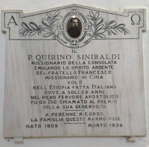 SINIBALDI Quirino1938 Anni 29