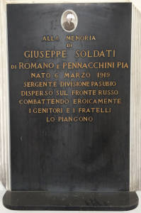 SOLDATI Giuseppe 1941 Anni 22
