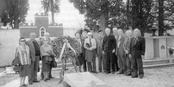 Zattaglia : omaggio alla lapide del gen. Arturo Scattini