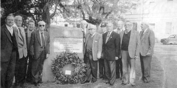 Faenza : una corona alla lapide del gen. Umberto Utili
