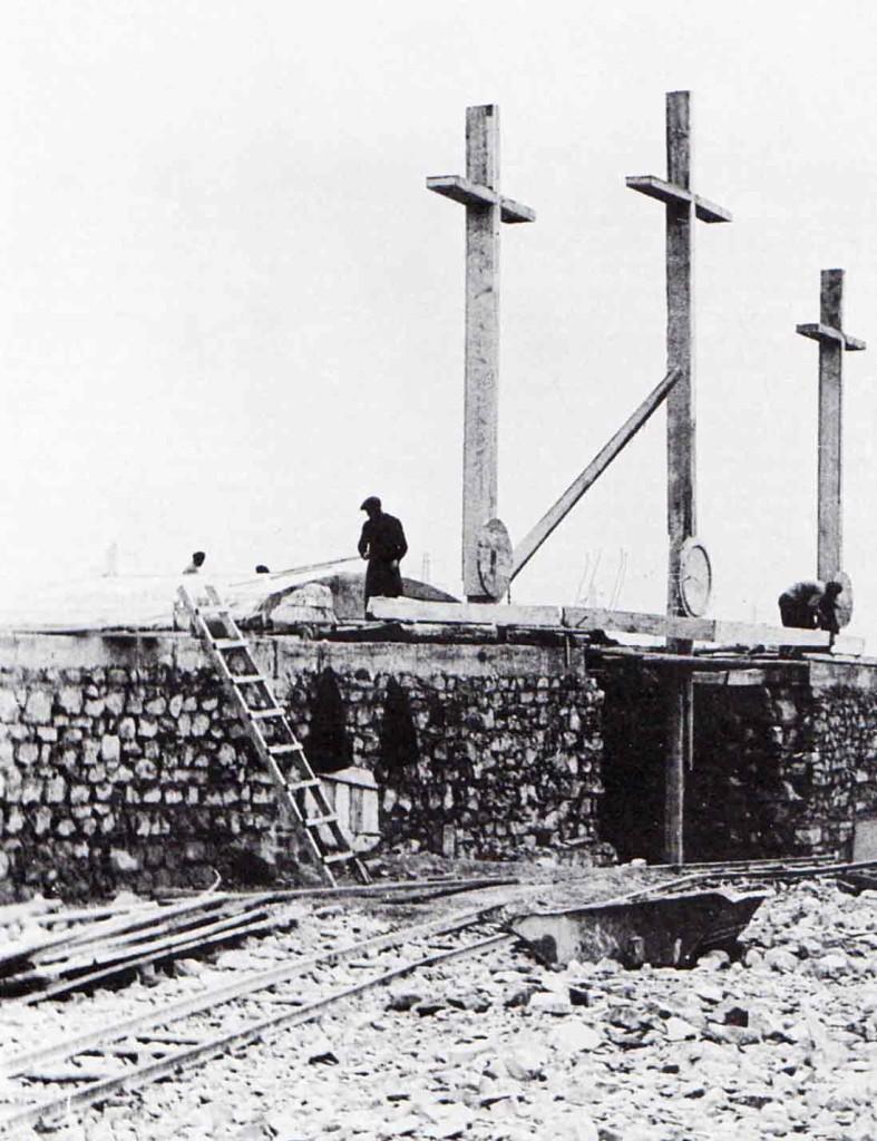 Il sacrario di Redipuglia in costruzione, 1938