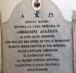 AMBROSINI Augusto 1907 anni 24
