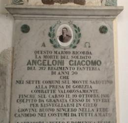 ANGELONI Giacomo 1916 anni 20