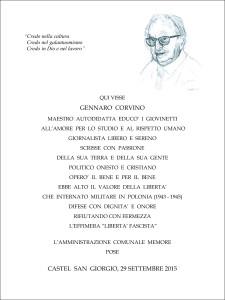 targa definitiva prof. corvino
